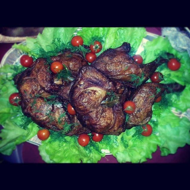 Kūpināta vistiņa vesela (1kg)